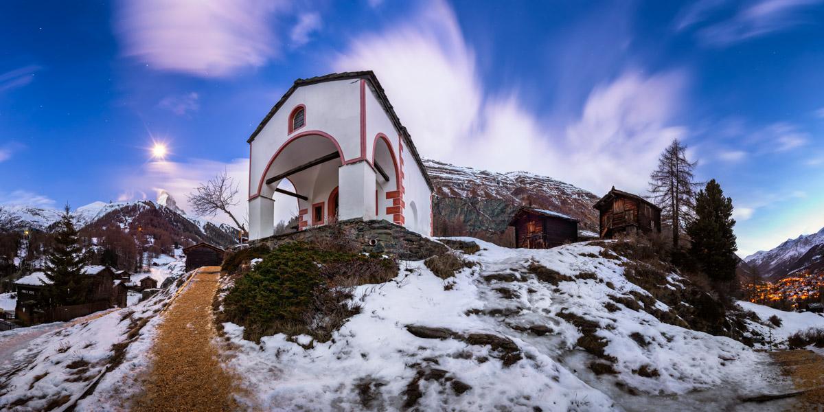 Blatten Chapel of Mary Queen of the Rosary, Zermatt, Switzerland