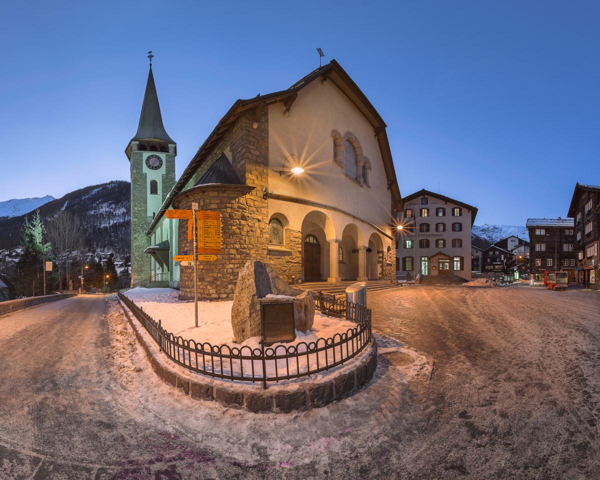 Church of Saint Mauritius, Zermatt, Switzerland