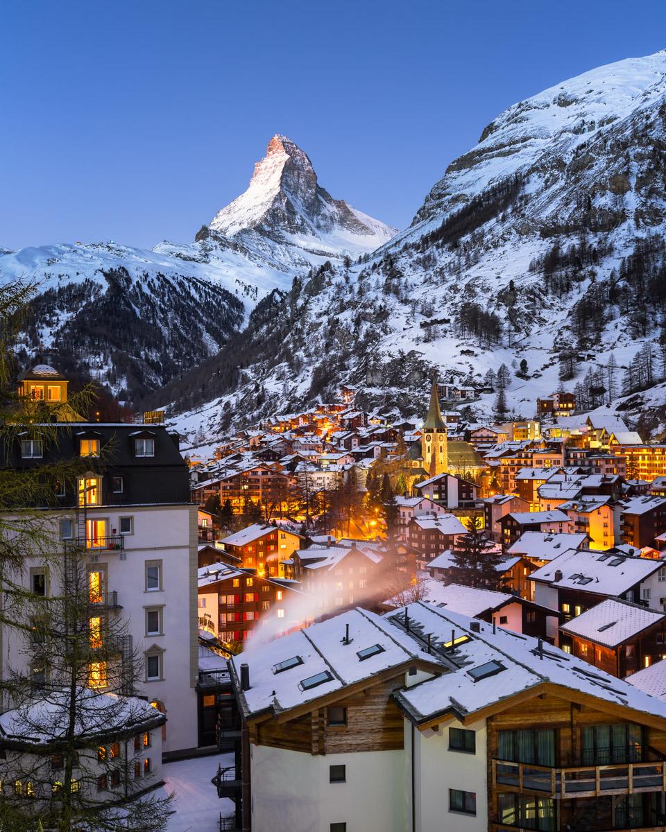Zermatt and Matterhorn, Zermatt, Switzerland